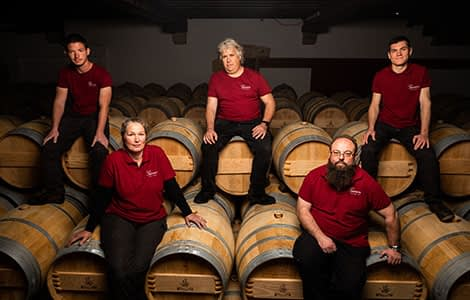 The Giscours winery team