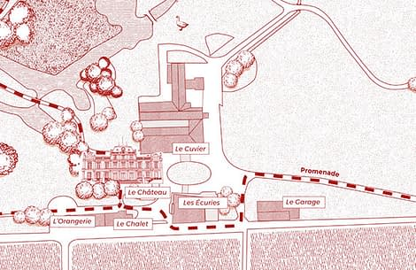 Plan of Giscours Winery