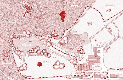Plan of the Park and the Forest