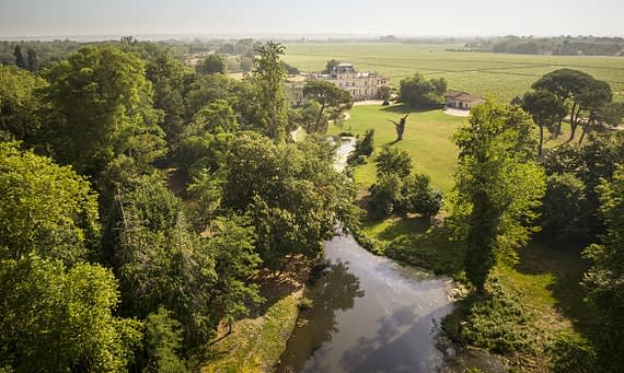 Discover Giscours park: a place for a stroll in a natural setting near to Bordeaux